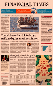Financial Times UK – 21 August 2019