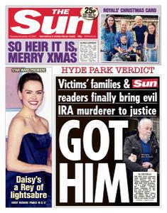 The Sun UK - 19 December 2019