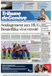 Tribune de Genève du Lundi 11 Mars 2019