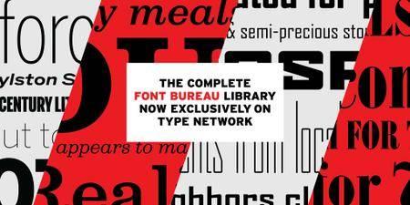 Font Bureau Fonts Collection