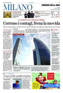 Corriere della Sera Milano – 17 ottobre 2020
