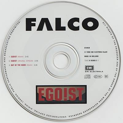 Falco - Egoist (1998, EMI Electrola # 7243 8 85985 2 1) / AvaxHome