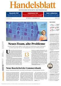Handelsblatt - 11. September 2019