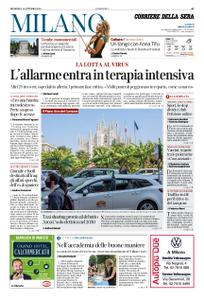 Corriere della Sera Milano – 18 ottobre 2020