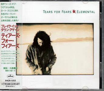 Tears For Fears - Elemental (1993) [Japanese Press]