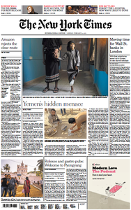 International New York Times - 18 February 2019