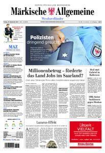 Märkische Allgemeine Westhavelländer - 15. September 2017