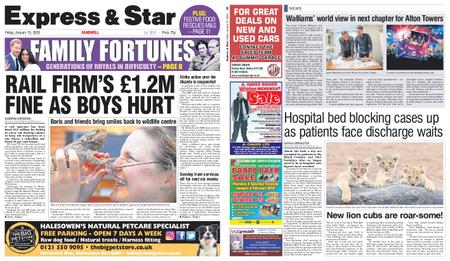 Express and Star Sandwell Edition – January 10, 2020