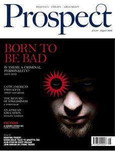 Prospect Magazine - August 2006