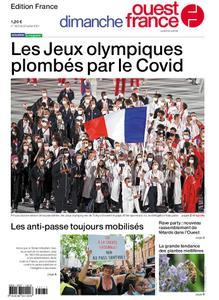 Ouest-France Édition France – 25 juillet 2021