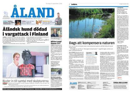 Ålandstidningen – 27 september 2018
