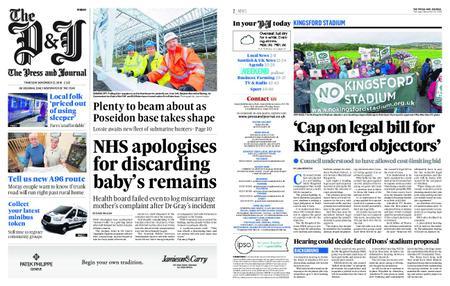 The Press and Journal Moray – November 22, 2018