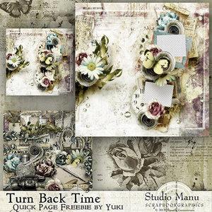 Mini Scrap Kit: Turn Back Time