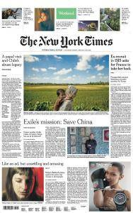 International New York Times - 13-14 January 2018