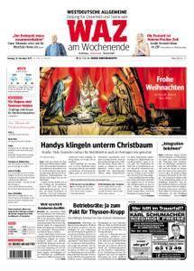 WAZ Westdeutsche Allgemeine Zeitung Oberhausen-Sterkrade - 23. Dezember 2017