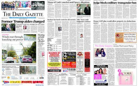 The Daily Gazette – October 31, 2017