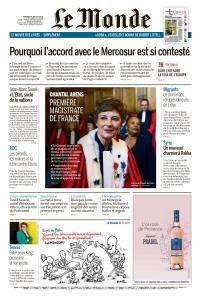 Le Monde du Vendredi 5 Juillet 2019