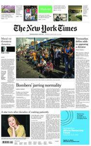 International New York Times - 19 May 2018