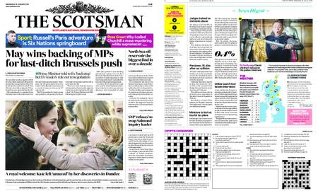 The Scotsman – January 30, 2019