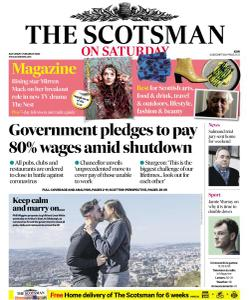 The Scotsman - 21 March 2020