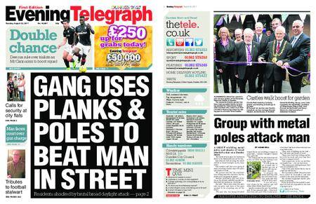 Evening Telegraph First Edition – August 22, 2017