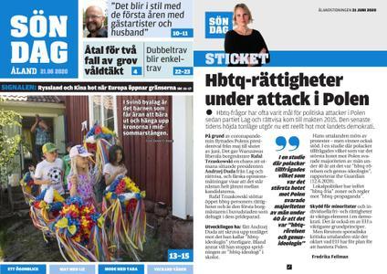 Ålandstidningen – 21 juni 2020