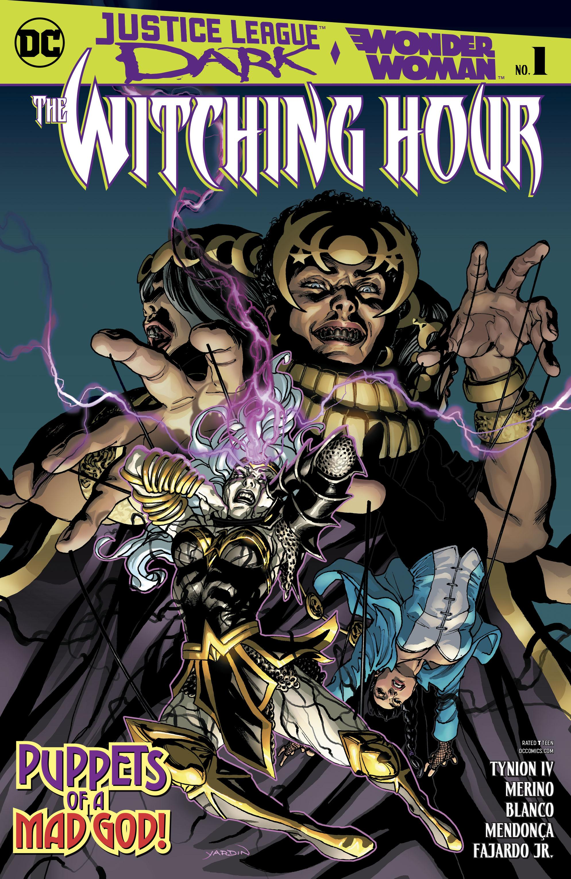 Justice League Dark and Wonder Woman-The Witching Hour 001 2018