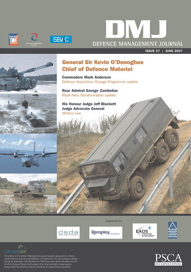 Defence Management Journal Magazine June 2007