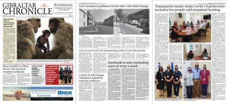 Gibraltar Chronicle – 20 July 2020