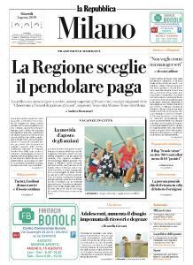 la Repubblica Milano - 1 Agosto 2019