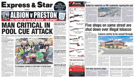 Express and Star Sandwell Edition – December 03, 2019