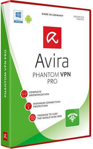 Avira Phantom VPN Pro 2.11.3.29834