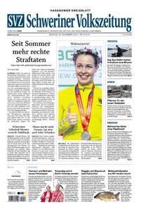 Schweriner Volkszeitung Hagenower Kreisblatt - 26. November 2018