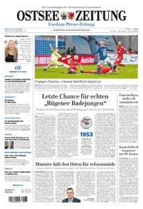 Ostsee Zeitung Wolgast - 20. September 2017