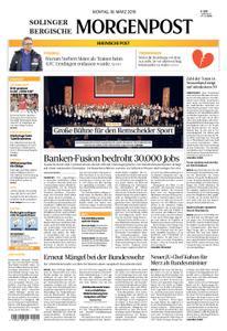 Bergische Morgenpost – 18. März 2019