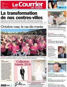 Le Courrier de l'Ouest Angers du Lundi 16 Octobre 2017