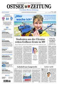 Ostsee Zeitung Wolgast - 23. Mai 2018