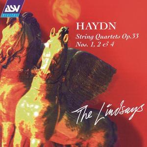 The Lindsays - Haydn: String Quartets Op. 33 Nos. 1, 2 & 4 (1995)