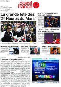 Ouest-France Édition France – 15 juin 2019