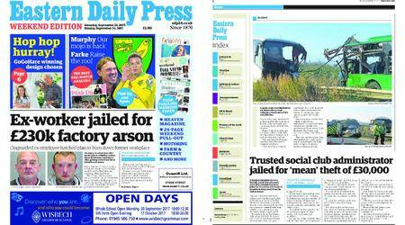 Eastern Daily Press – September 23, 2017