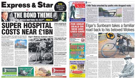 Express and Star City Edition – January 17, 2020