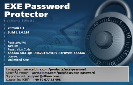 Eltima EXE Password Protector 1.1.6.214