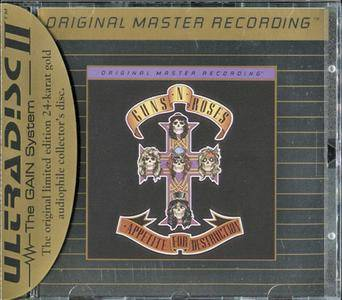 Guns N' Roses - Appetite For Destruction (1987) [MFSL, UDCD 699]