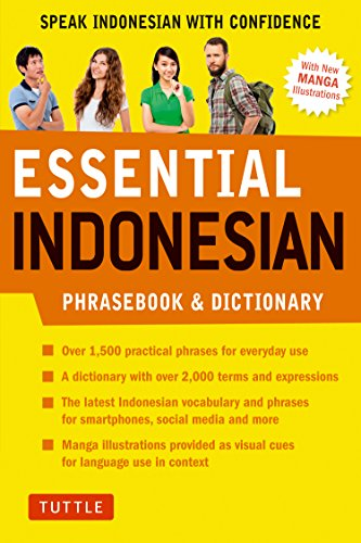 Essential Indonesian Phrasebook & Dictionary: Speak Indonesian with Confidence!