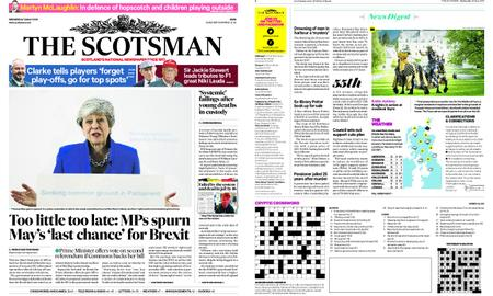 The Scotsman – May 22, 2019