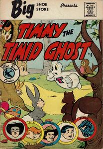 Timmy the Timid Ghost 06 (Blue Bird) c2c (Charlton) 1960