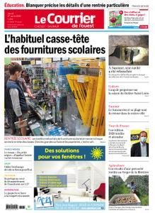 Le Courrier de l'Ouest Cholet – 27 août 2020