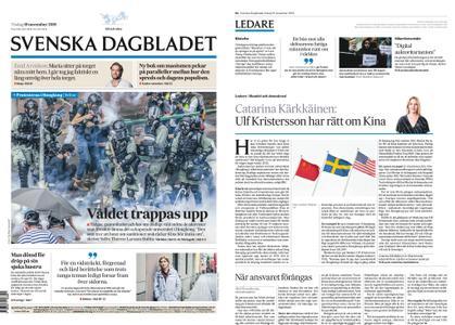 Svenska Dagbladet – 19 november 2019