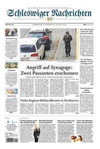 Schleswiger Nachrichten - 10. Oktober 2019