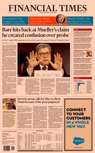 Financial Times USA – 2 May 2019